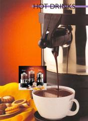 Varm choklad maskin